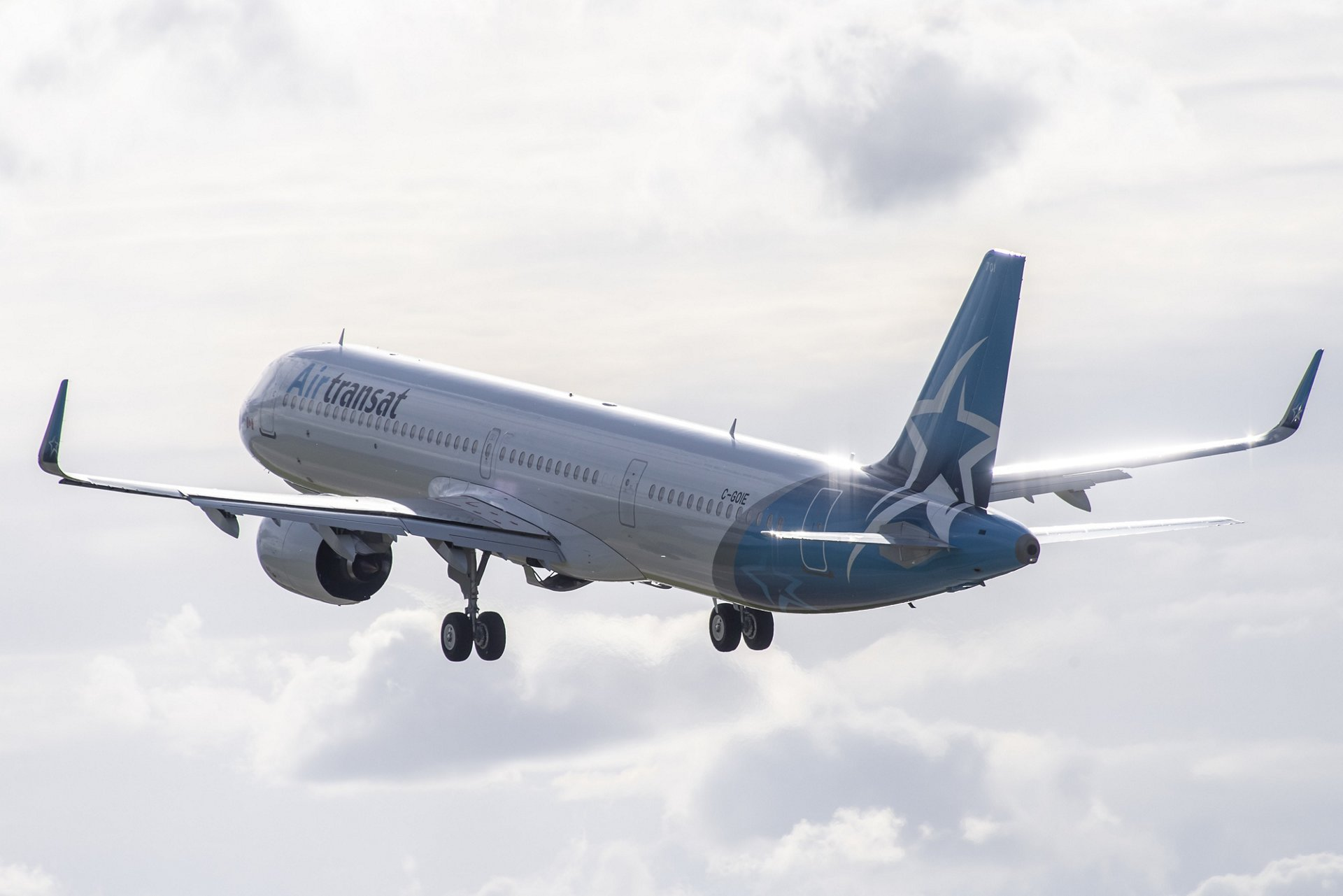 Air Transat's new A321neo LR soon at Brussels, to replace