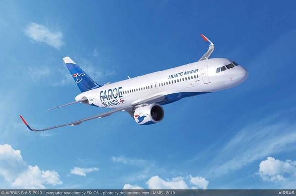 Atlantic Airways orders two Airbus A320neo aircraft