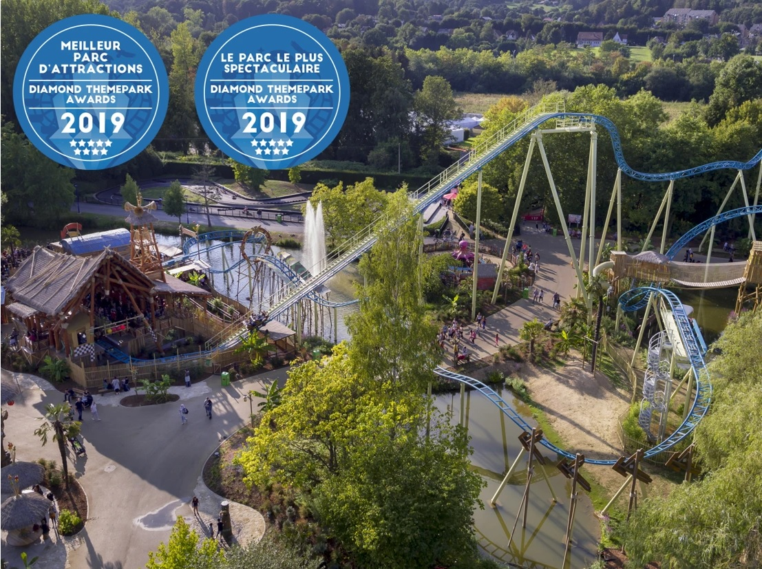 Walibi Belgium Halloween 2019.Amusement Park Awarded 2019 Best Attractions Park Walibi