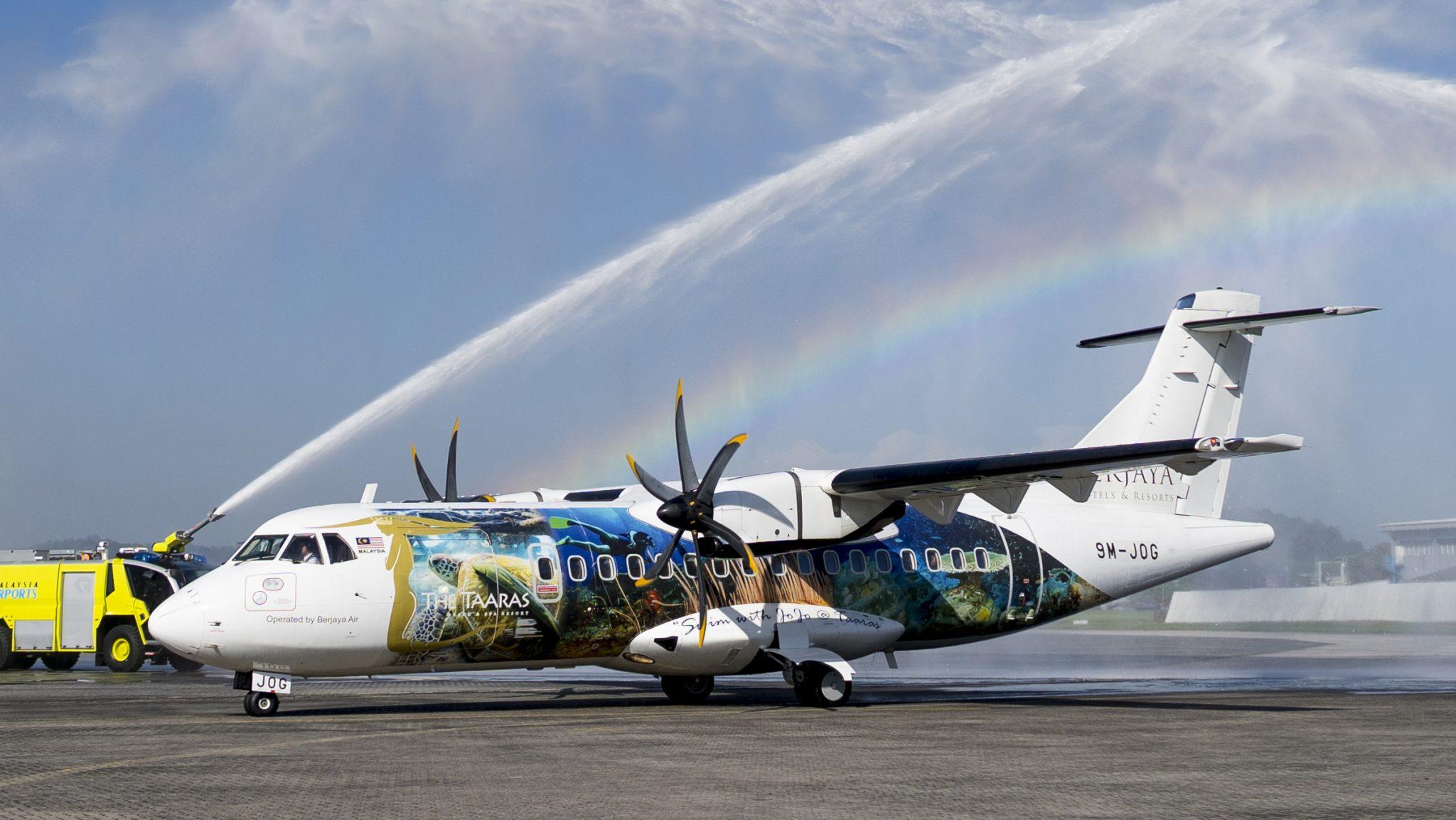 New direct flight from Subang Airport (Kuala Lumpur) to the Taaras Beach & Spa Resort at Redang ...