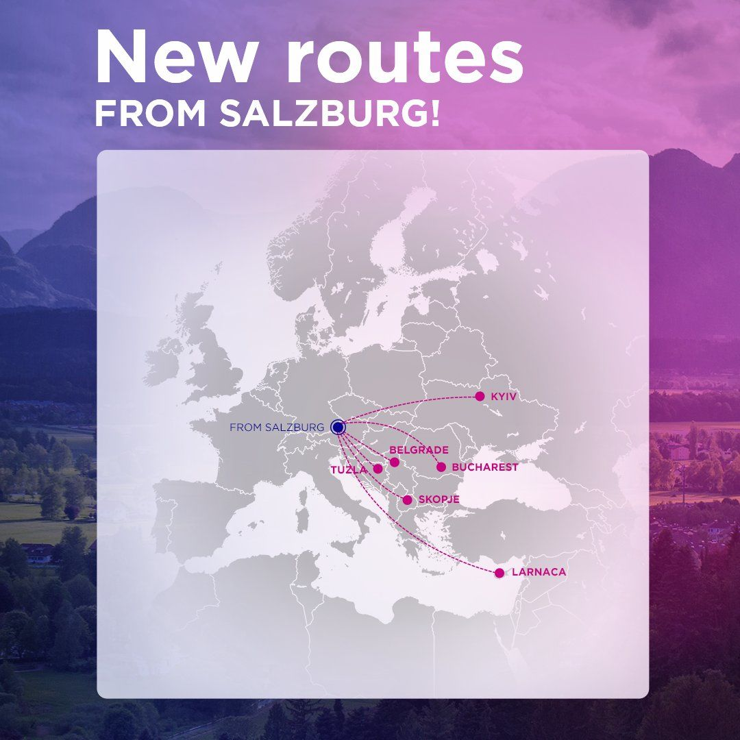 Wizz Air To Open A Station In Salzburg Austria With Six New Routes And A Base In Tirana Albania With 16 New Destinations Aviation24 Be